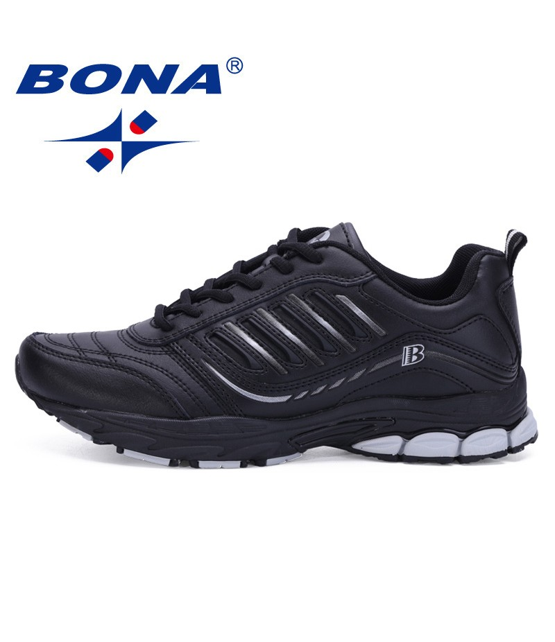BONA China Shoes Men Running Shoes Outdoor Walking Sneakers Comfortable Athletic Shoes Men For Sport Free Shipping