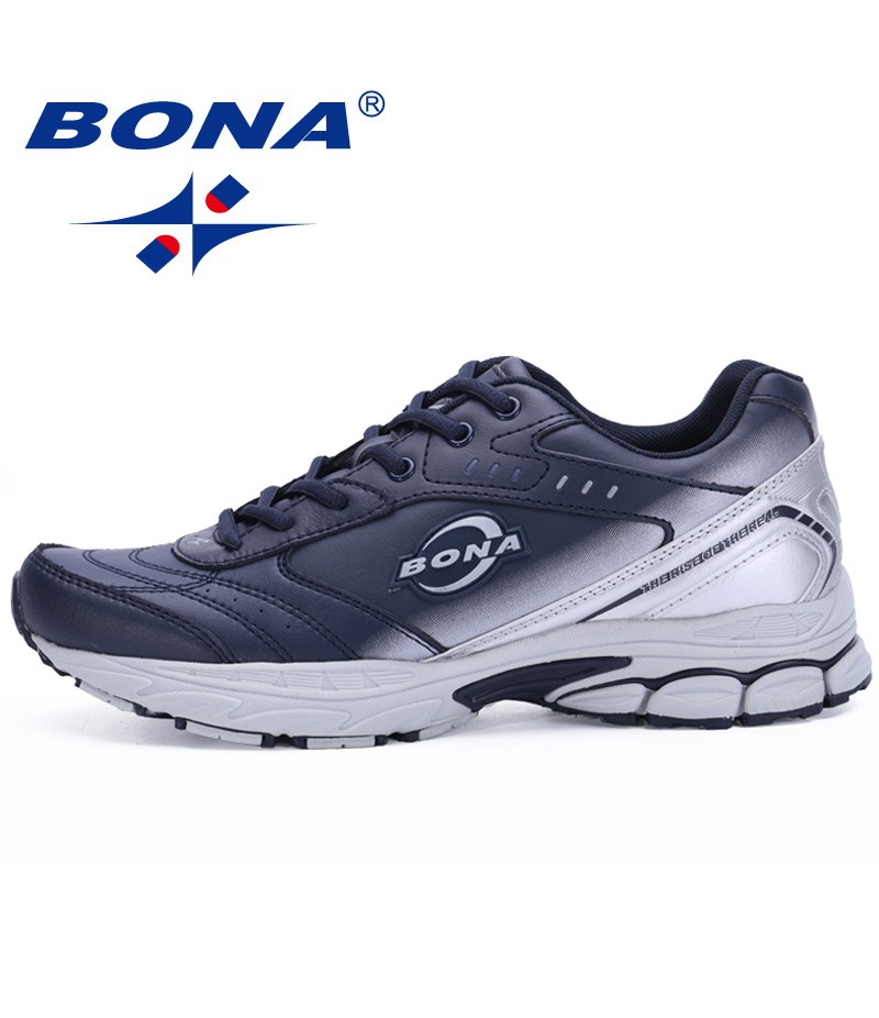 BONA China Shoes Men Running Shoes Typical Sport Shoes Outdoor Walking Shoes Men Sneakers Comfortable Women Sport Running Shoes