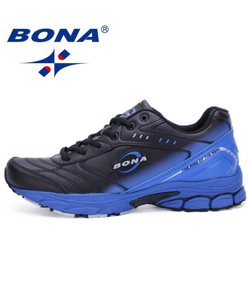 BONA China Shoes Men Running Shoes Typical Sport Shoes Outdoor Walking Shoes Men Sneakers Comfortable Women Sport Running Shoes