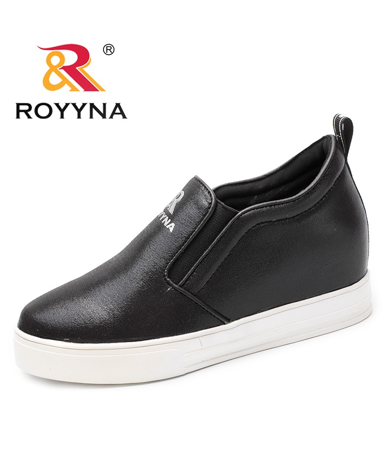 ROYYNA New Fashion Style Women Flats Outdoor Sneakers Shoes Elastic Band Women Casual Shoes Microfiber Lady Shoes Free Shipping