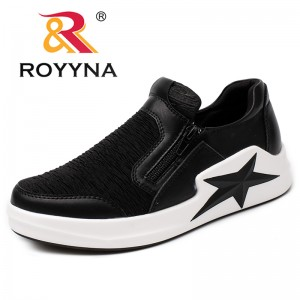 ROYYNA New Arrival Classics Style Women Loafers Elastic Band Women Flats Outdoor Fashion Sneakers Comfortable Fast Free Shipping