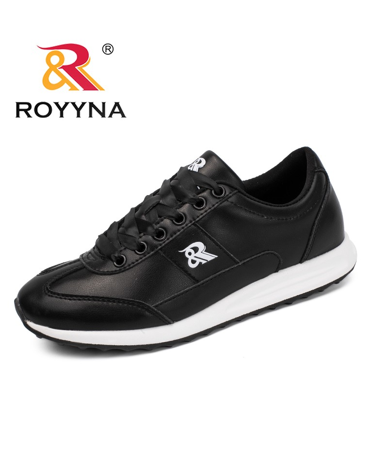 ROYYNA New Popular Style Women Sneakers Shoes Lace Up Femme Comfort Shoes Microfiber Chaussure Femme Zapatos Mujer Free Shipping