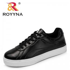 ROYYNA New Classics Style Women Fashion Sneakers Shoes Microfiber Femme Platform Flats Durable Outsole Tenis Feminino Sapato