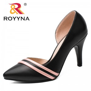 ROYYNANew Arrival Fashion Style Women Pumps Shallow Women Dress Shoes Pointed Toe Lady Wedding Shoes Comfortable Free Shipping