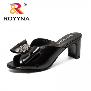 ROYYNA New Arrival Classics Style Women Slippers Butterfly-Knot Femme Summer Shoes Flowers Lady Slides Light Fast Free Shipping