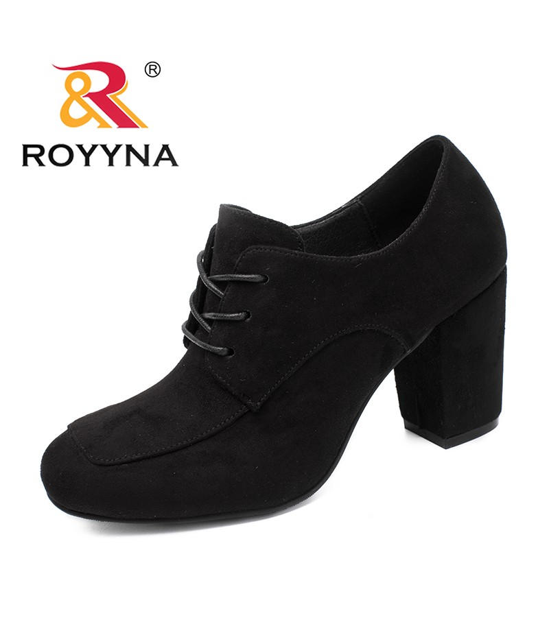 New Zapato Flock Mujer Style Royyna Lace Women Pumps Arrival Mature X0Pnk8wO