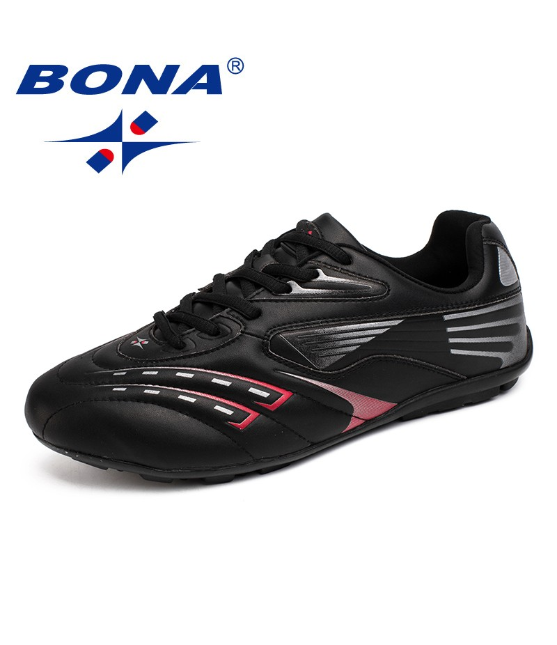 BONA New Arrival Classics Style Men Soccer Shoes Athletc Training Football Shoes Action Leather Men Sneakers Fast Free Shipping