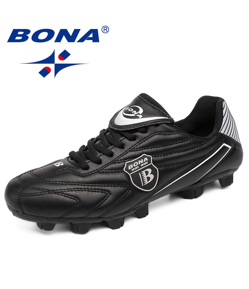 BONA New Arrival Classics Style Men Soccer Shoes Outdoor Lawn Football Shoes Men Professional Trainers Sport Shoes Free Shipping