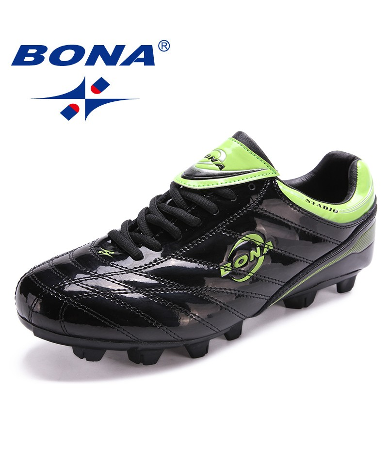 BONA New Classics Style Men Soccer Shoes Jogging In Outdoor Lawn Men Football Shoes Zapatillas Deportivas Mujer Free Shipping