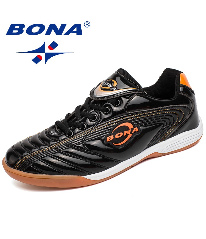 BONA New Arrival Classics Style Men Soccer Shoes Outdoor Professional Trainer Men Football Shoes Lace Up Men Sneakers Shoes