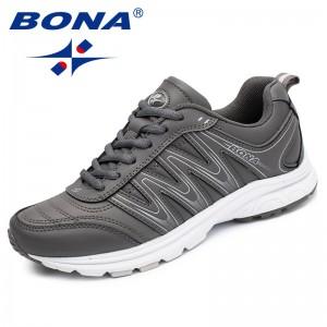 BONA New Arrival Classics Style Women Fashion Sneakers Shoes Outdoor Tenis Feminino Zapatos Trendy Design Lady Flats Handmade
