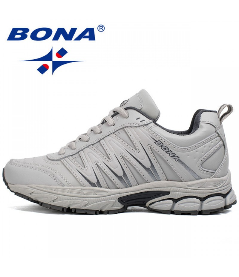 BONA China Shoes Women Running Shoes Lace Up Sport Shoes Outdoor Jogging Walking Athletic Shoes Comfortable Sneakers For Women