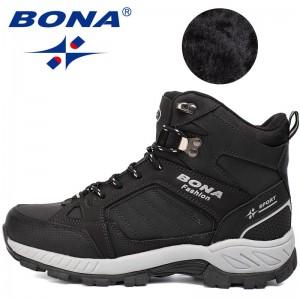 BONA Chinese Shoes manufacture  Men Hiking Shoes Outdoor Walking Jogging Trekking Sport Shoes Multi-Fundtion Climbing Sneakers For Men