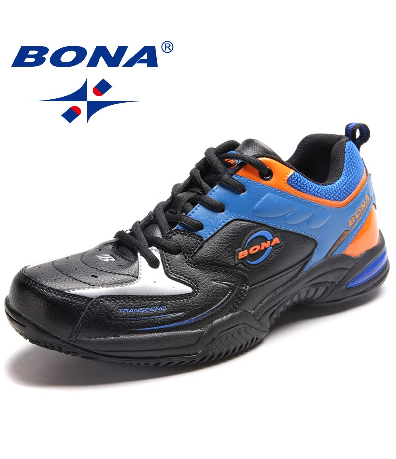 BONA New Style Men Tennis Shoes Lace Up Men Shoes Outdoor Jogging Sneakers Comfortable Men Athletic Shoes Fast Free Shipping
