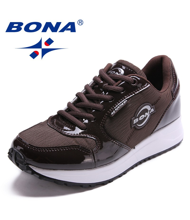 BONA New Arrival Popular Style Women Walking Shoes Outdoor Jogging Sneakers Lace Up Athletic Shoes Comfortable Free Shipping