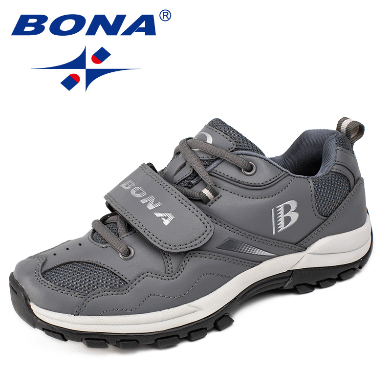 BONA New Arrival Typical Style Women Hiking Shoes Outdoor Walking Jogging Trekking Sneakers Lace Up Women Athletic Shoes Retail