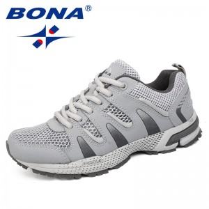 BONA Chinese Shoes manufacture Women Running Shoes Outdoor Jogging Sneakers Comfortable Athletic Shoes Women Fast Free Shipping