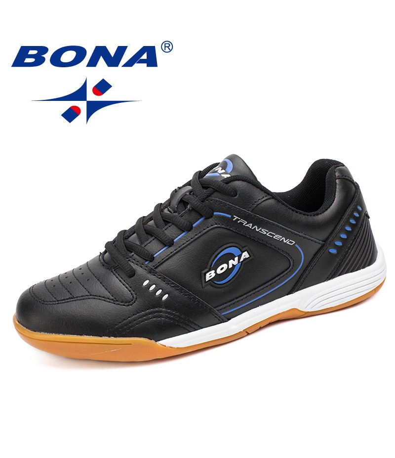 BONA New Typical Style Men Soccer Shoes Lace Up Men Professional Trainer Football Shoes Outdoor Jogging Sneakers Free Shipping