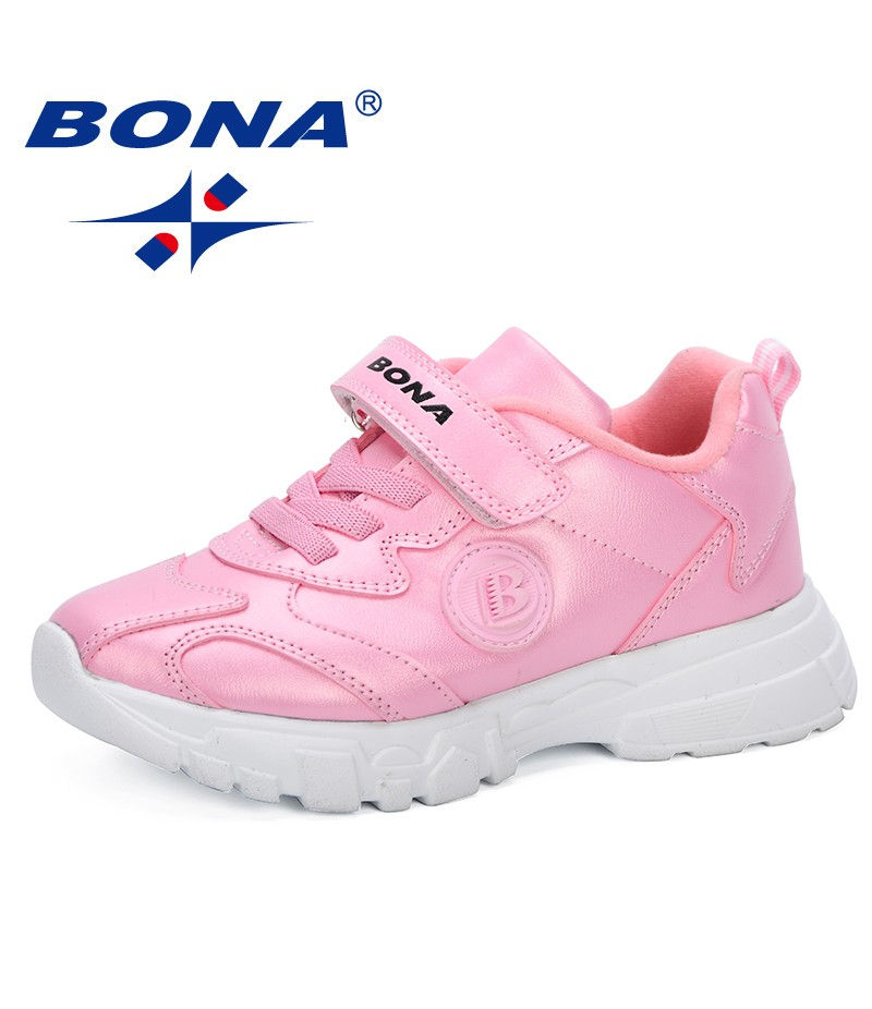 BONA 2019 New Popular Style Children Sneakers Anti-Slippery Comfortable Footwear Spring Autumn Sport Shoes Kids Casual Shoes