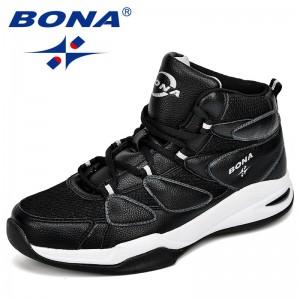 BONA 2018 Zapatos de baloncesto para hombres Zapatos Hombre Ultra verde Boost New camuflaje Basket Hombre Zapatos zapatillas