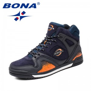 BONA New Arrival Typical Style Men Walking Shoes Lace Up Men Athletic Shoes Outdoor Jogging Sneakers Comfortable Free Shipping