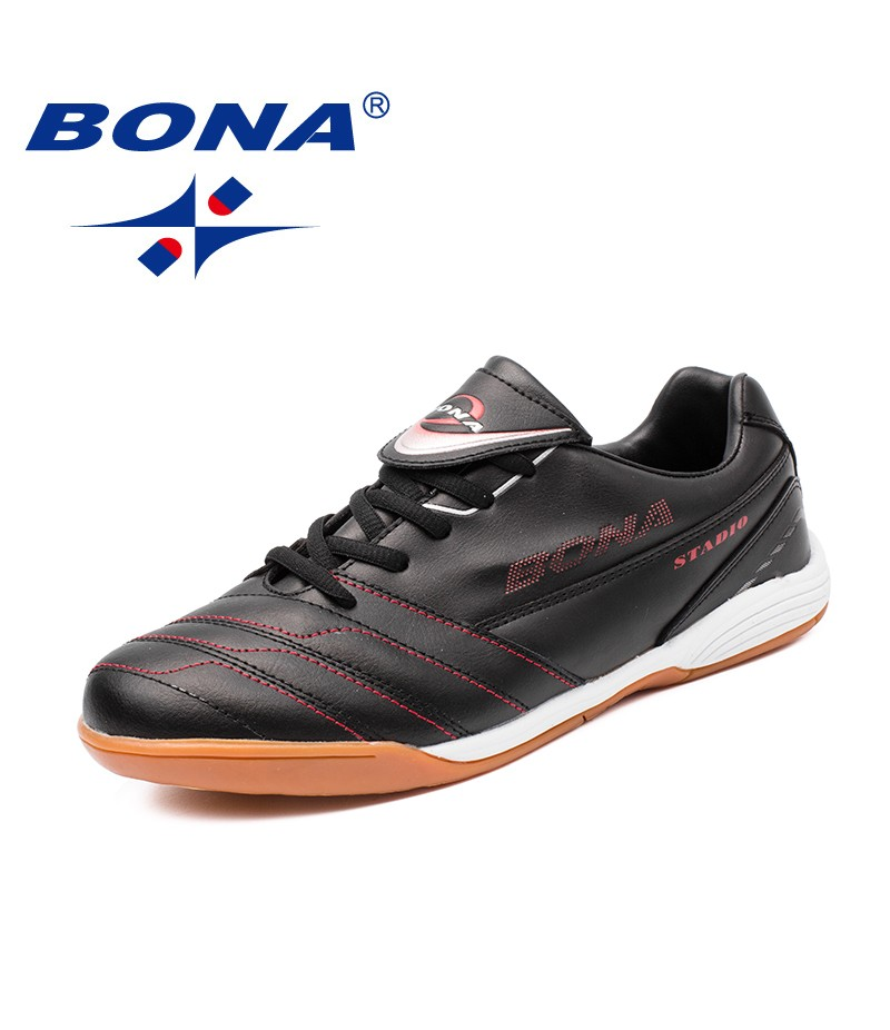 BONA New Arrival Classics Style Men Soccer Shoes Lace up Men Athletic Shoes Outdoor Jogging Sneakers Comfortable Free Shipping