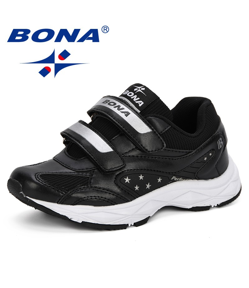 BONA New Style Children Sport Shoes Spring & Autumn New Fashion Breathable Kids Boys Shoes Outdoor Anti-Slippery Sneakers Shoes