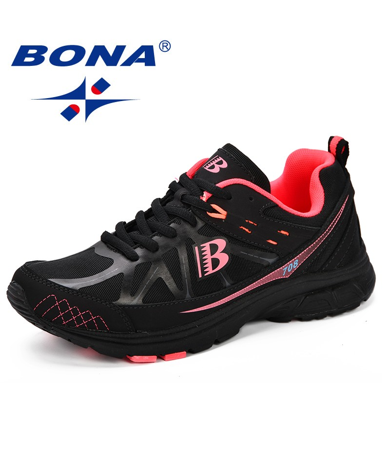 BONA New Classics Women Running Shoes Chaussure Femme Breathable Sneakers Women Sport Shoes Woman Zapatillas Mujer Deportiva