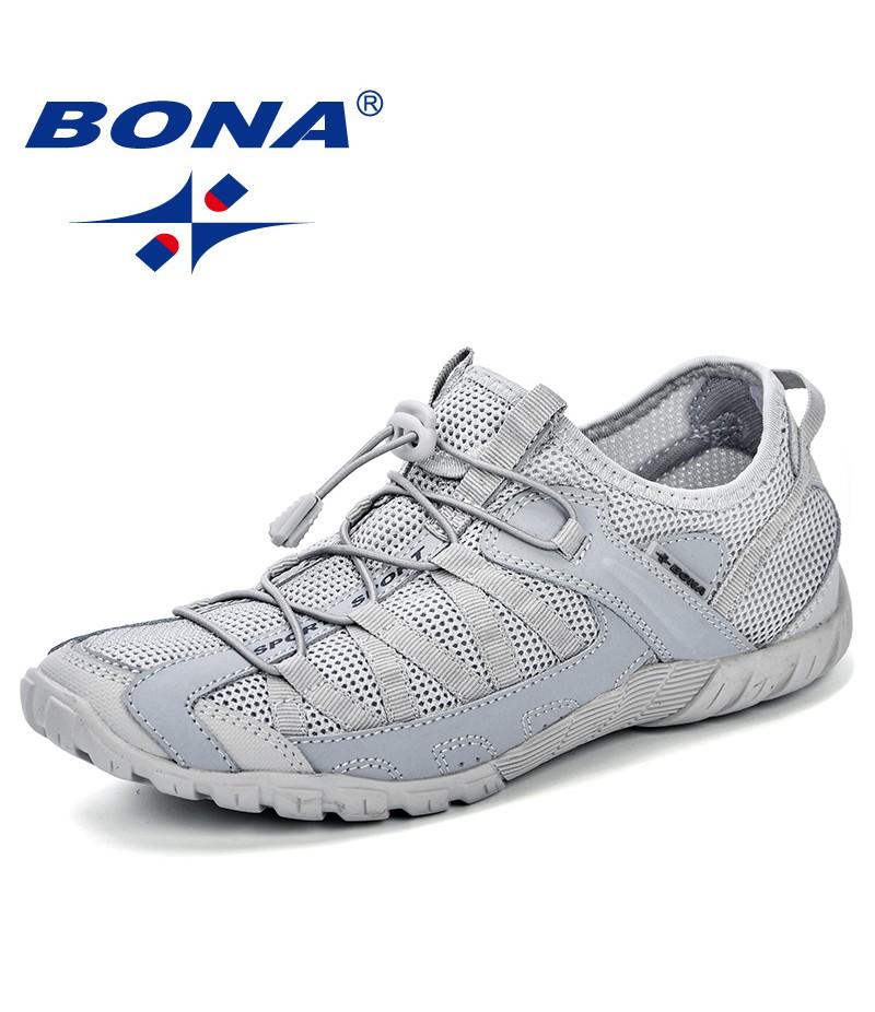 BONA Chinese Shoes Summer Sneakers Breathable Men Casual Shoes Fashion Men Shoes Tenis Masculino Adulto Sapato Masculino Men Leisure Shoe