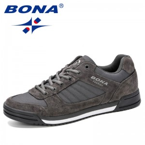 BONA 2019 Men Skateboarding Shoes Unisex Sport Sneakers Male Trainers Breathable Basket Shoes Zapatillas Mujer Chaussures Homme