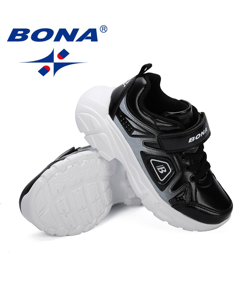 BONA 2019 New Design Children Shoes For Boys Spring/Autumn Kids Sport Shoes Soft and Breathable Boys Sneakers Casual Light Shoes