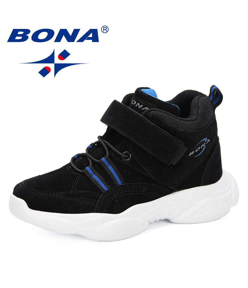 BONA 2019 Kids Shoes Girls Shoes Boys Sport Shoes Quality Sneakers Children Casual Ruinning Shoes Outdoor Footwear