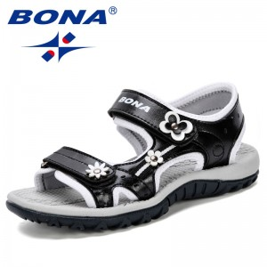 BONA 2019 Hot New Arrive Boys Sandals Summer Soft Sole Antislip Boys Girls Shoes Kids Fashion Beach Sandals Children Summer Shoe