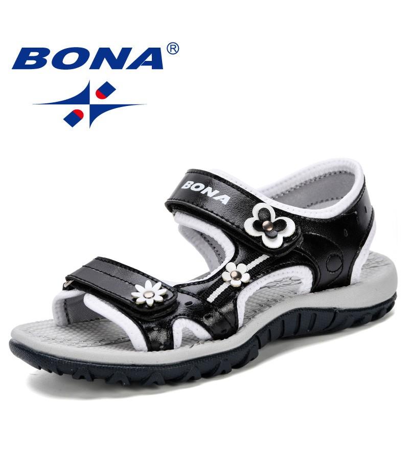 BONA 2019 Hot New Arrive Boys Sandals Summer Soft Sole Antislip Boys Girls Shoes Kids Fashion Beach Sandals Children Summer Shoe