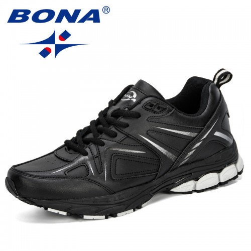 BONA 2019 New Style Men Running Shoes