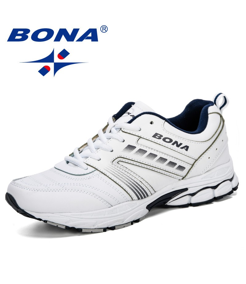 BONA 2019 Men Running Shoes Sports Men Trainers Outdoor Jogging Homme Zapatos Corrientes Verano Chaussures De Course Pour Hommes