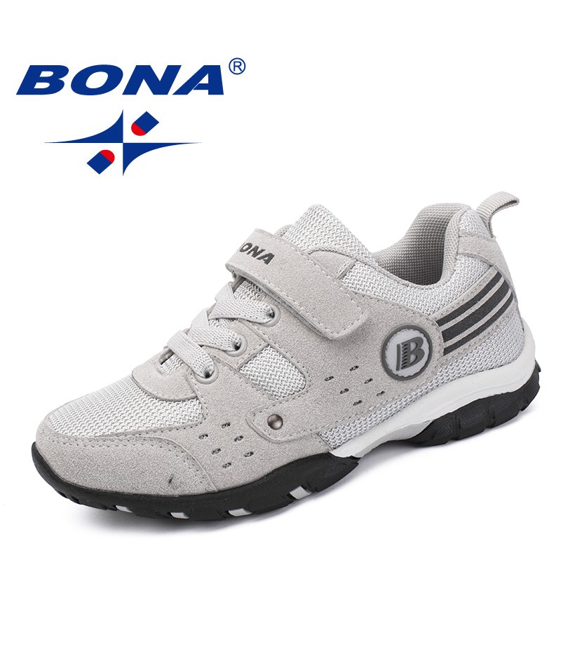 BONA New Arrival Classics Style Children Casual Shoes Hook & Loop Girls Sneakers Shoes Mesh Boys Comfort Shoes Free Shipping