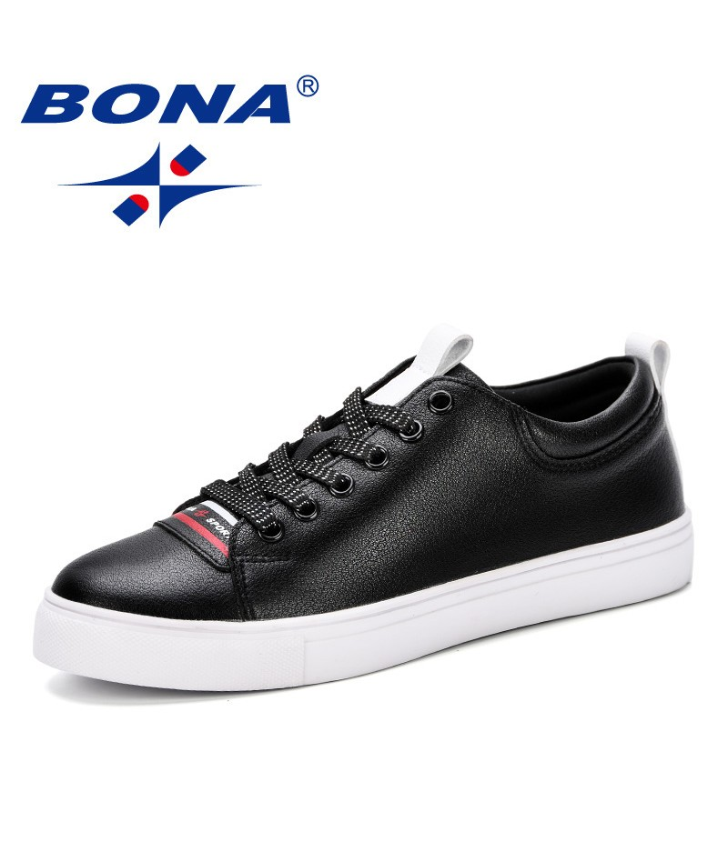 BONA 2019 Spring New White Shoes Women Trendy Student Casual Female Wedge Women Comfortable Platform Sneakers Shoes For Women