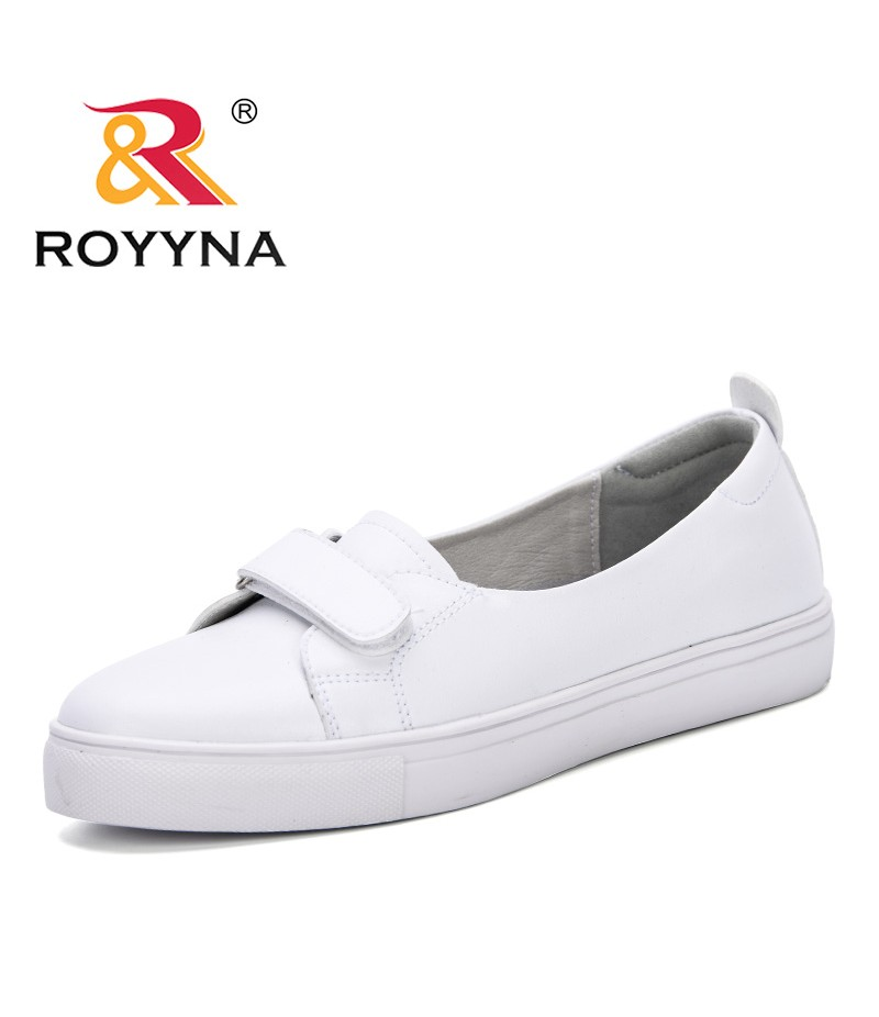 ROYYNA 2019 Spring New Designer Classics White Shoes Female Platform Sneakers Women Tenis Feminino Casual Female Shoes Woman