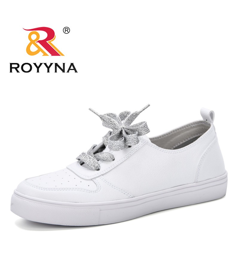ROYYNA 2019 Classic White Sneakers Women Casual Shoes Female Spring Lace-Up Trainers Fashion Zapatillas Mujer Vulcanize Shoes