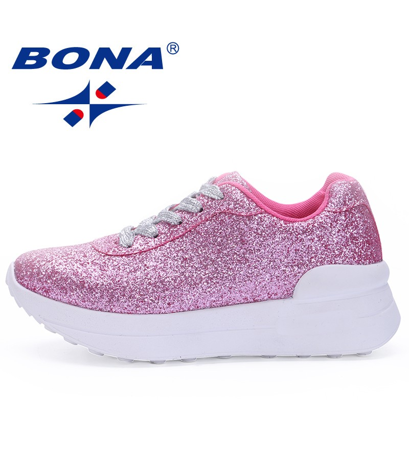 BONA New Popular Style Wmen Walking Shoes Outdoor Jogging Sneakers Athletic Shoes Lace Up Ladies Sport Shoes Fast Free Shipping