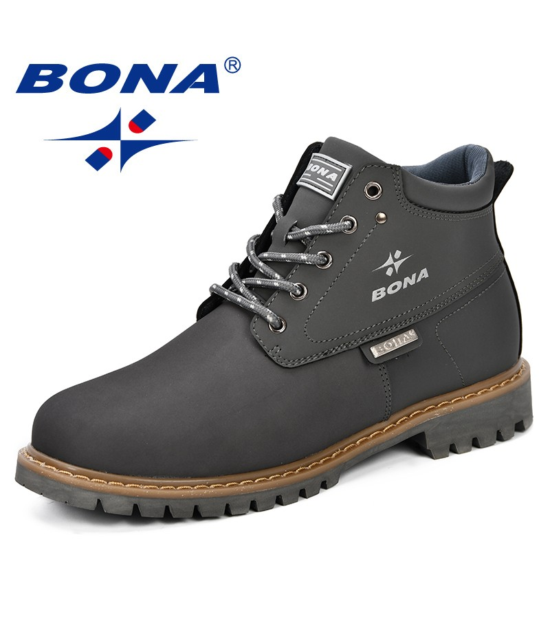 BONA New Popular Style Men Running Shoes Outdoor Walking Jogging Sneakers Comfortable Athletic Shoes For Men Fast Free Shipping