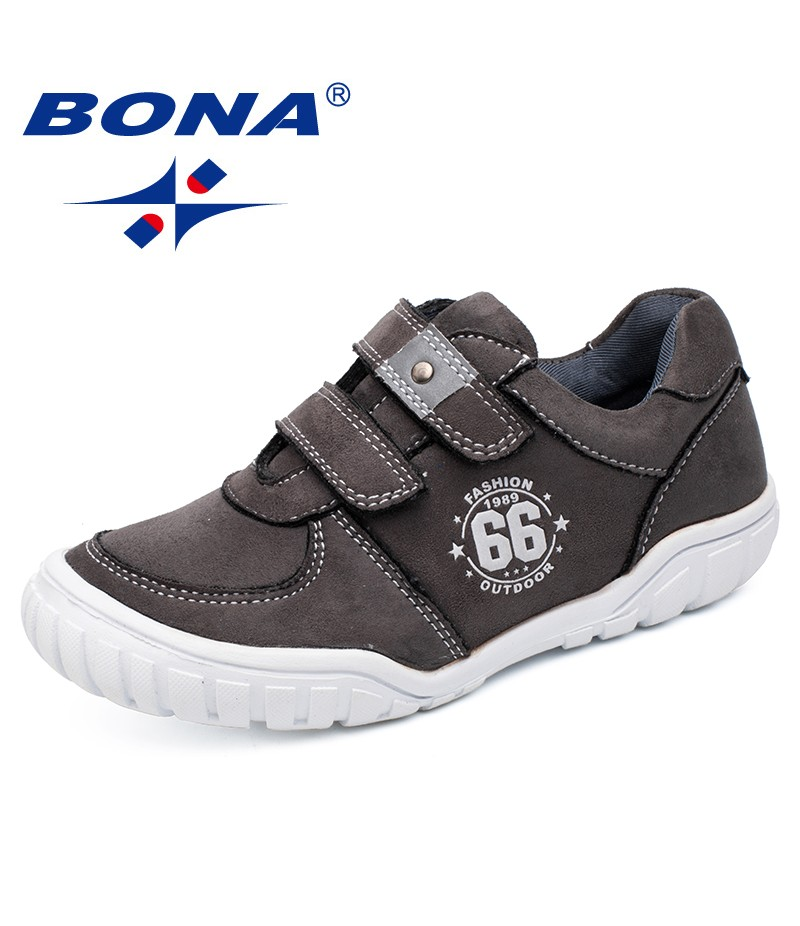 BONA New Arrival Popular Style Children Casual Shoes Lace Up Boys Shoes Synthetic Girls Fashion Sneakers Shoes Free Shipping