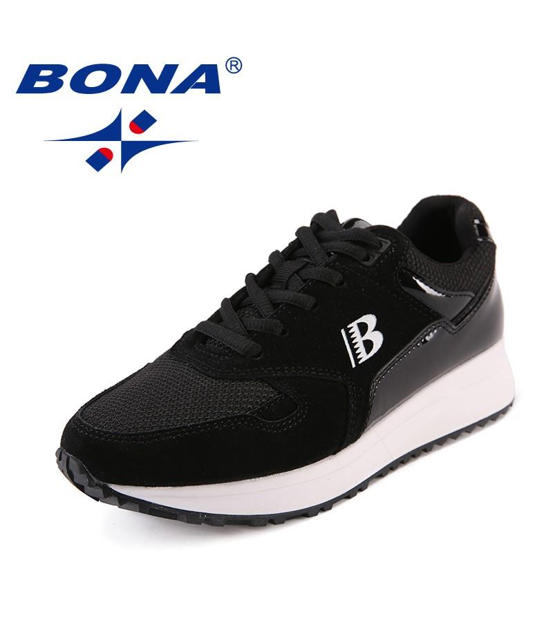 BONA New Arrival Classics Style Women Walking Shoes Trendy Design Women Outdoor Sneakers Shoes Lace Women Athletic Shoes