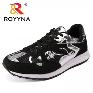 ROYYNA New Arrival Classics Style Women Flats Canvas Women Fashion Sneakers Shoes Lace Up Lady Casual Shoes Fast Free Shipping