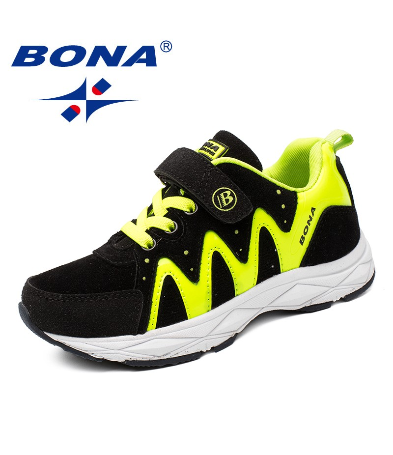 BONA New Arrival Classics Style Children Casual Shoes Boys Running Shoes Girls Outdoor Jogging Sneakers Light Free Shipping
