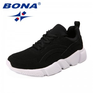 BONA New Arrival Classics style Women Walking Shoes Suede Femme Athletic Shoes Lace Up Lady Outdoor Jogging Shoes Free Shipping