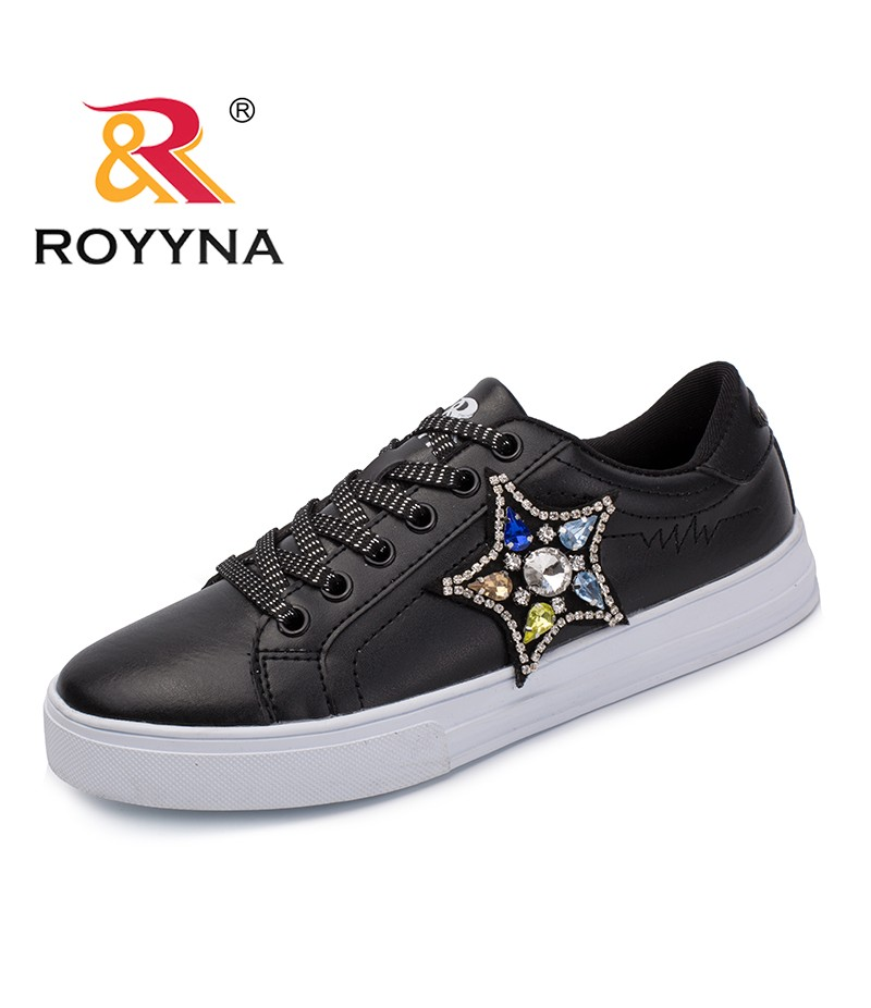 ROYYNA New Popular Style Women Flats Outdoor Sneakers Shoes Microfiber Women Casual Shoes Lace Up Lady Shoes Fast Free Shipping