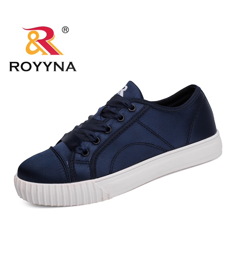ROYYNA New Trendy Style Women Sneakers Shoes Platform Femme Casual Shoes Vulcanized Tenis Feminino Sapato Lace Up Lady Loafers