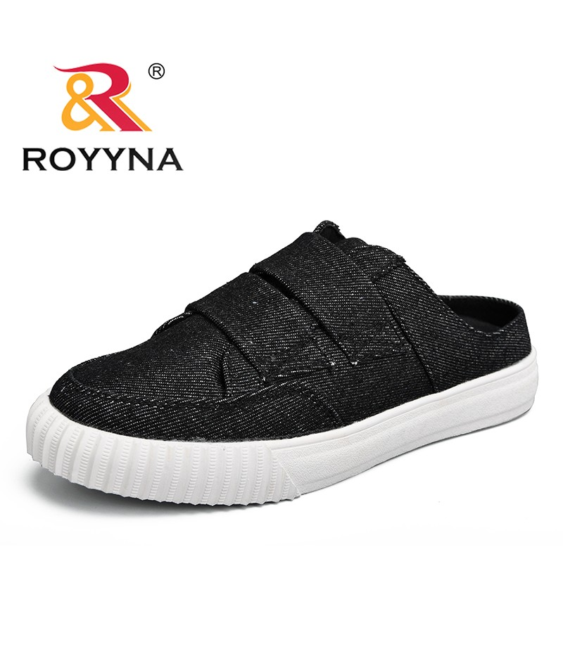 ROYYNA New Classics Style Women Sneakers Shoes Canvas Feminimo Slippers Slip-On Lady Flats Comfortable Female Casual Shoes